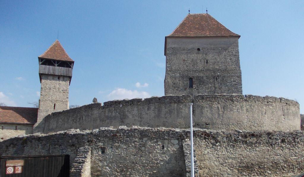 Cetatea Câlnic, județul Alba